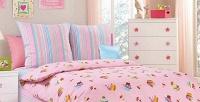 Полуторный комплект постельного белья детской расцветки изстопроцентного хлопка (1450руб. вместо 2500руб.)