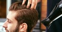 <b>Скидка до 50%.</b> Мужская стрижка, камуфлирование, оформление бороды иусов отбарбершопа Pushkin