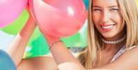 <b>Скидка до 54%.</b> Связка изматовых или перламутровых гелиевых шаров, фольгированный шар снадписью, композиция изпрозрачных шаров, шар-цифра или фигура, фотозона либо романтическая композиция изшаров