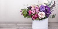 <b>Скидка до 50%.</b> Букет, цветочная композиция вшляпной коробке, корзина или ящик сцветами