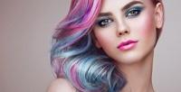 <b>Скидка до 58%.</b> Мужская или женская стрижка, окрашивание, экранирование, кератиновое восстановление волос всалоне красоты «Морион»