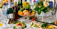<b>Скидка до 52%.</b> Проведение банкета ссалатами, первыми блюдами, восточным саджем нагорячее, напитками вкафе-ресторане «Гурман»