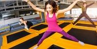 <b>Скидка до 53%.</b> Абонемент на4, 8, 12часов или разовое посещение для одного или двоих навыбор батутного центра Crazy Jump