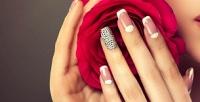 <b>Скидка до 76%.</b> Маникюр или педикюр спокрытием гель-лаком иSPA-программой, коррекция либо наращивание ногтей гелем всалоне красоты «Ягода»
