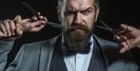 <b>Скидка до 60%.</b> Мужская или детская стрижка, коррекция бороды вбарбершопе «Золотая молодежь»