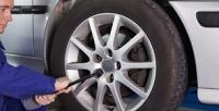 Шиномонтаж ибалансировка колес автомобиля радиусом доR18 отсети шинных центров «АлексШина78» (850руб. вместо 2500руб.)