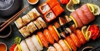 Сеты, суши ироллы всуши-баре Trisushki соскидкой50%