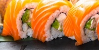 Суши-сет №1, №2или №3отслужбы доставки Sushi Aki соскидкой50%