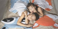 <b>Скидка до 30%.</b> Детский спальник или плед-подушка навыбор