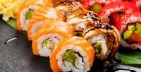 Суши, сеты, роллы илапша wok отслужбы доставки Wok Shop соскидкой50%