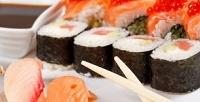 Суши-сет «Жара» или «Мечта» отслужбы доставки «#Японамать» соскидкой50%