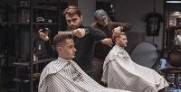<b>Скидка до 50%.</b> Детская или мужская стрижка, бритье, моделирование либо стрижка бороды иусов вбарбершопе Dandies Moscow