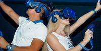 <b>Скидка до 50%.</b> До3часов игры вшлеме виртуальной реальности вклубе Kvark
