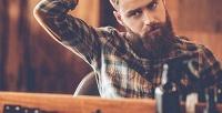 <b>Скидка до 50%.</b> Мужская стрижка смоделированием бороды либо без, стрижка усов вбарбершопе IPS.Barber