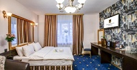 <b>Скидка до 57%.</b> Отдых рядом систорическим центром Санкт-Петербурга сзавтраком вномере категории стандарт, полулюкс или люкс сзавтраком либо романтический отдых вбутик-отеле «Гранд3*»
