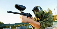 Игра впейнтбол впейнтбольном клубе Top Gun. <b>Скидка51%</b>