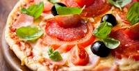 Всё меню пиццы вслужбе доставки «Аладжин» соскидкой50%