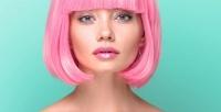 <b>Скидка до 70%.</b> Стрижка, окрашивание навыбор, экранирование, укладка ипроцедуры повосстановлению волос всалоне красоты Marianna