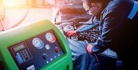 Комплексная подготовка изаправка кондиционера автомобиля вшиномонтажном сервисе «Лосевы» (899руб. вместо 2900руб.)