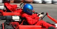 <b>Скидка до 32%.</b> 1, 2или 4заезда накарте наоткрытой трассе вОлимпийском парке откомпании Extreme.Kart