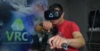 <b>Скидка до 50%.</b> 30или 60минут погружения ввиртуальную реальность или игры наприставке вклубе виртуальной реальности VRС