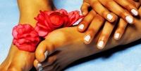 <b>Скидка до 67%.</b> Маникюр ипедикюр вместе или поотдельности спокрытием ногтей гель-лаком всалоне красоты Friend's