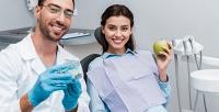 <b>Скидка до 84%.</b> Гигиена полости рта, отбеливание зубов либо лечение кариеса сустановкой пломбы вклинике Maxistom