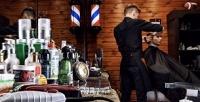 <b>Скидка до 50%.</b> Мужская, детская стрижка, оформление бороды вмужской парикмахерской OldBoy Barbershop