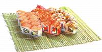 Роллы, сеты отролл-бара «Суши-Сан» соскидкой50%