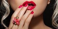 <b>Скидка до 51%.</b> Комбинированный маникюр или педикюр спокрытием гель-лаком, выравниванием ногтевой пластины либо без отстудии эстетики лица итела «Милена»