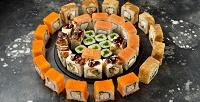 <b>Скидка до 50%.</b> Суши-сет «Флорида», «Сэнсэй», «Сушиман» или «Сити» отслужбы доставки суши «Инари»