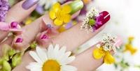 <b>Скидка до 66%.</b> Маникюр ипедикюр спокрытием ногтей гель-лаком всалоне красоты «Имидж»