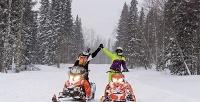 <b>Скидка до 54%.</b> Прокат снегохода, квадроцикла, багги или кроссового мотоцикла вкомпании «Зарулем»