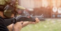 25выстрелов изогнестрельного оружия иаренда беседки смангалом вСК«Гвардейский» (2800руб. вместо 5600руб.)