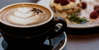 <b>Скидка до 52%.</b> 1, 2или 3кофе идесерта вкафе «Ван Гог»