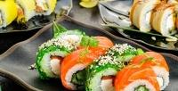 Суши, роллы, сеты, горячие блюда отслужбы доставки «Япончик наНабережной»