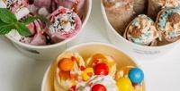 Две порции жареного ролл-мороженого навыбор откомпании Chubby Bunny соскидкой50%