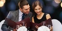 <b>Скидка до 50%.</b> Романтический ужин для одной или двух пар вкафе «Эгоист»
