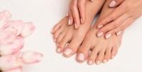 <b>Скидка до 70%.</b> Маникюр ипедикюр спокрытием ногтей имассажем встудии красоты Bellezza