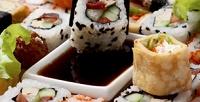 Всё меню суши отслужбы доставки готовых блюд «Суши отшефа» соскидкой50%
