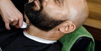 <b>Скидка до 54%.</b> Оформление бороды, классическое бритье, модельная стрижка, комплекс «Отец исын» вбарбершопе «Первый мужской»