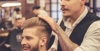 <b>Скидка до 50%.</b> Мужская, стрижка «Отец исын», оформление бороды отбарбершопа Хo.Beautyclub