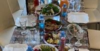Меню кухни вкафе-ресторане «Троя» соскидкой50%