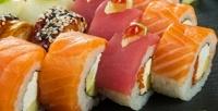 Суши-сет отслужбы доставки «Токайдо» соскидкой50%