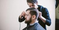 <b>Скидка до 53%.</b> Детская имужская стрижка, оформление бороды, стрижка «Отец плюс сын» вбарбершопе наулице Луначарского Barber Express