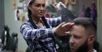 <b>Скидка до 70%.</b> Мужская стрижка, коррекция или моделирование бороды вмужской парикмахерской Barnaba