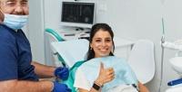 <b>Скидка до 81%.</b> Гигиена полости рта, отбеливание, эстетическая реставрация зубов или лечение кариеса сустановкой пломбы вмногопрофильном медицинском центре «Евромедси»