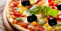 Всё меню пирогов, пиццы ироллов без ограничения суммы чека отслужбы доставки «Ваниль» соскидкой50%
