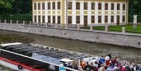 <b>Скидка до 69%.</b> Утренняя, дневная или ночная прогулка «Разводные мосты» натеплоходе откомпании «Речной трамвай Санкт-Петербурга»