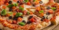 Всё меню пиццы впиццерии American Hot Pizza соскидкой50%